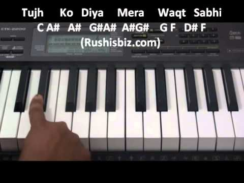 Aashiqui2 Tum Hi Ho Piano notes – Video Tutorials